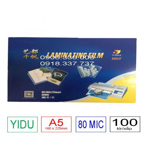 Nhựa ép plastic A5 - 80mic